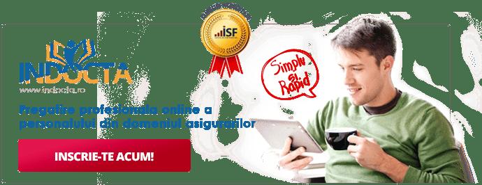 Indocta - Pregatire profesionala online a personalului din domeniul asigurarilor